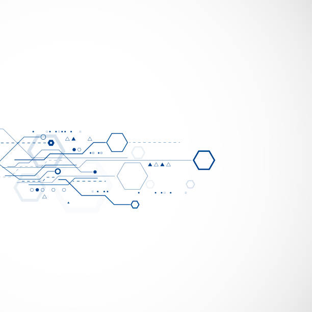 Fond abstrait technologie  - Illustration vectorielle
