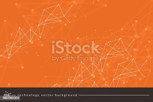 istock Abstract technology background 992085304