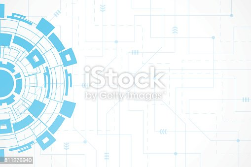 Abstract technology background , Vector illustration