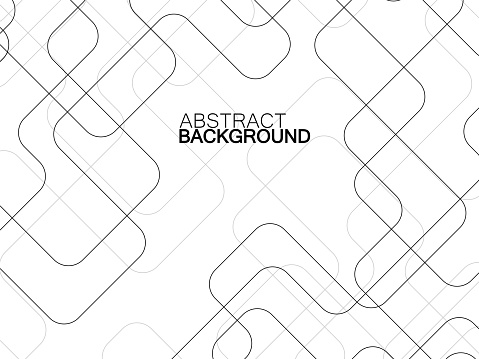 Abstract technology background with communication line