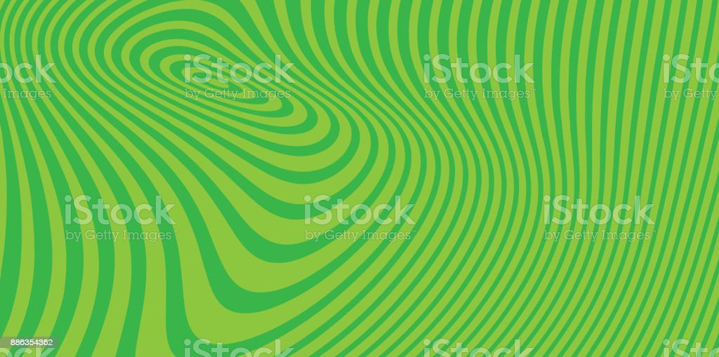 Abstract technology background with concentric halftone pattern vector art illustration