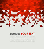 Abstract technology background  with triangle. Vector illustration.
