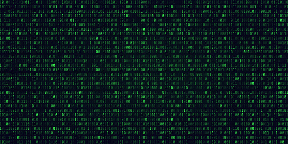848353924 istock photo Abstract Technology Binary code Background.Digital binary data and Secure Data Concept 883740522