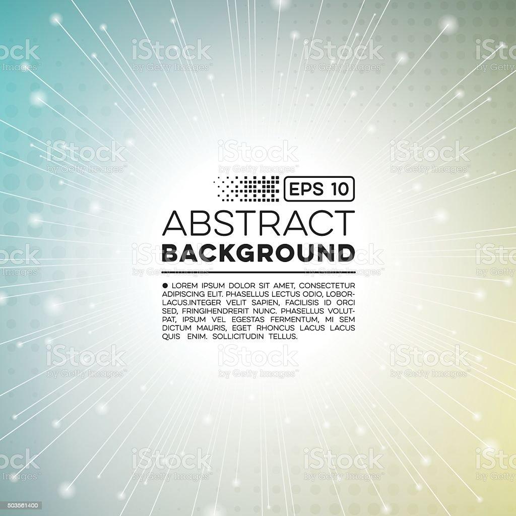 Abstract Technology Burst Background vector art illustration