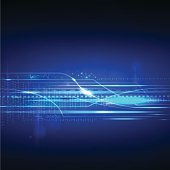 abstract technology concept information digital data speed background vector