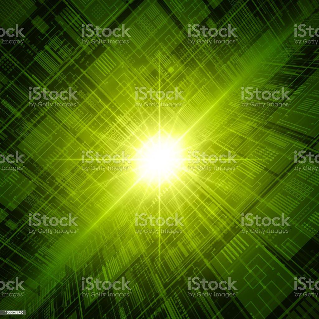 Abstract technology database vector background royalty-free stock vector art
