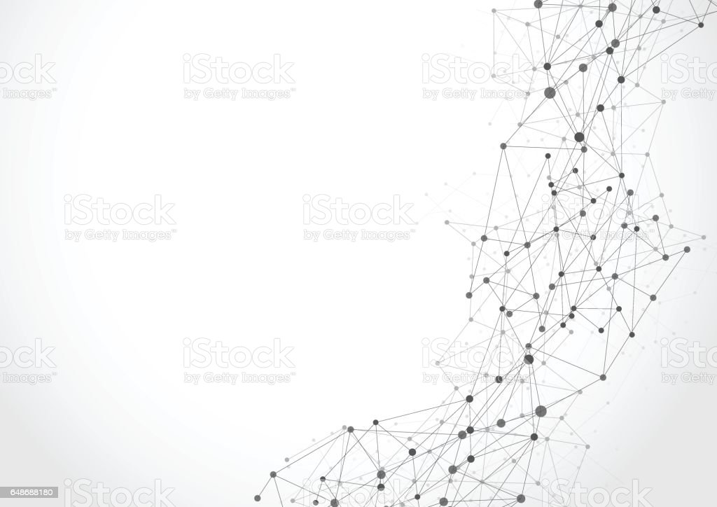 Abstract technology futuristic network royalty-free abstract technology futuristic network stock illustration - download image now