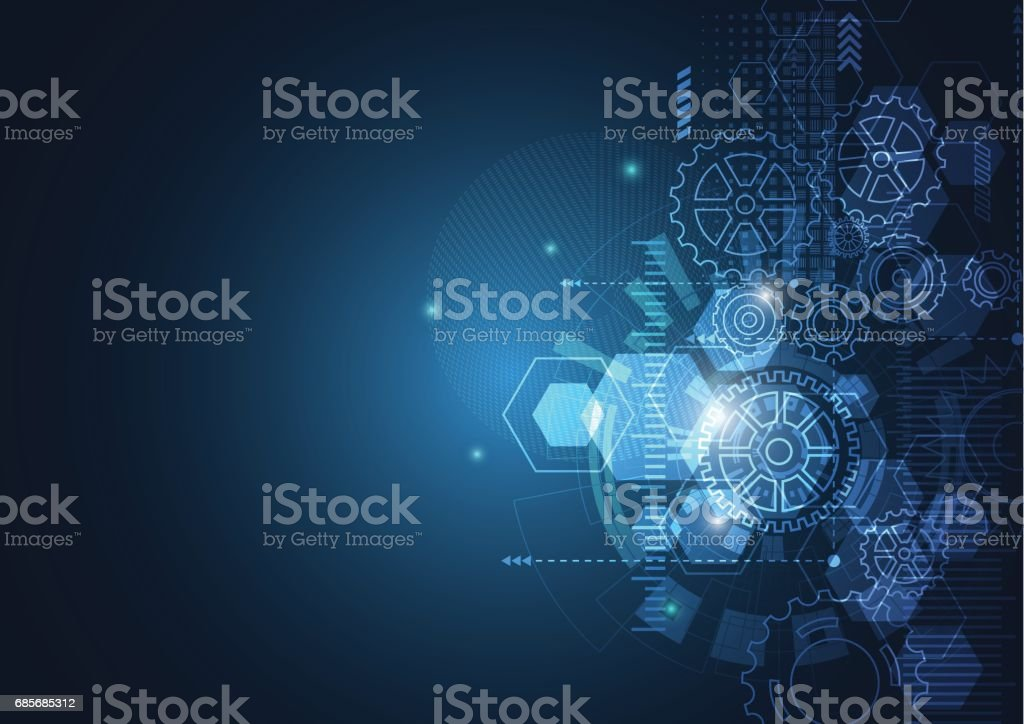 추상적임 기술 초현대적 네트워크 royalty-free 추상적임 기술 초현대적 네트워크 0명에 대한 스톡 벡터 아트 및 기타 이미지
