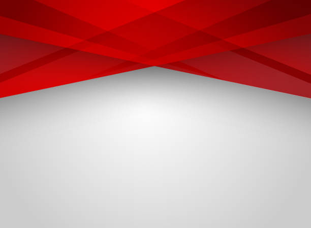 Abstract technology geometric red color shiny motion background. Abstract technology geometric red color shiny motion background. Template with header and footer for brochure, print, ad, magazine, poster, website, magazine, leaflet, annual report. Vector corporate design abstract borders stock illustrations