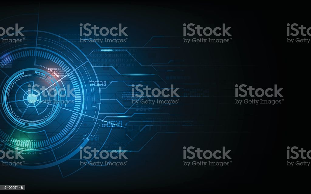 Technology Management Image: Abstract Technology Innovation Concept Future Futuristic