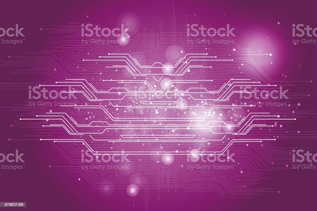 Abstrakte Technologie-Innovation-Konzept - Lizenzfrei Abstrakt Vektorgrafik