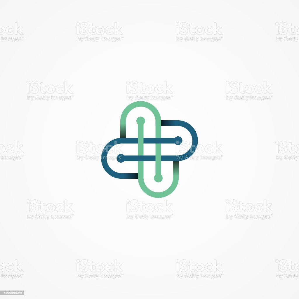 Vector de tecnología Resumen de concepto profesional de la salud - ilustración de arte vectorial