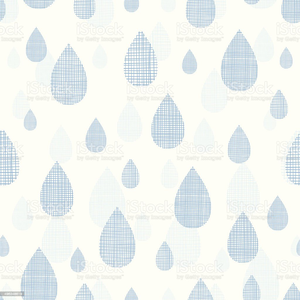 Abstract textile blue rain drops seamless pattern background royalty-free abstract textile blue rain drops seamless pattern background stock vector art & more images of abstract