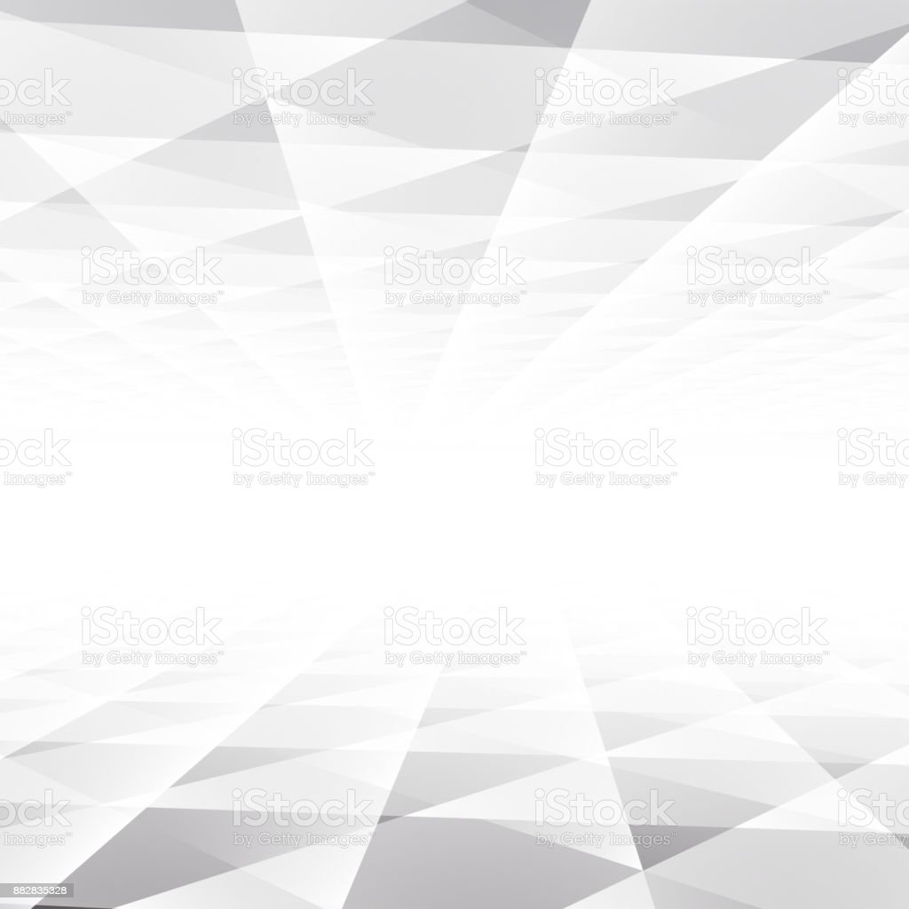 Abstract Texture Geometric White And Gray Color Technology