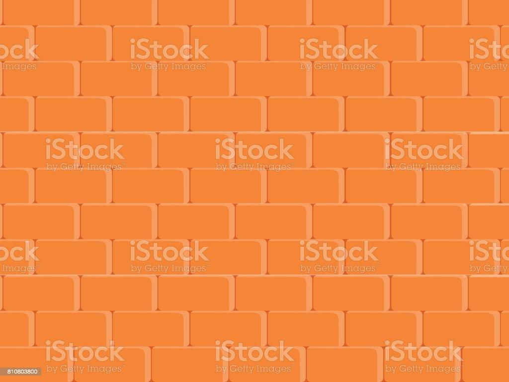 漆喰赤の塗装は薄いレンガ壁農村ルーム石造りのブロックをベクトルで