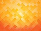 abstract tile orange background