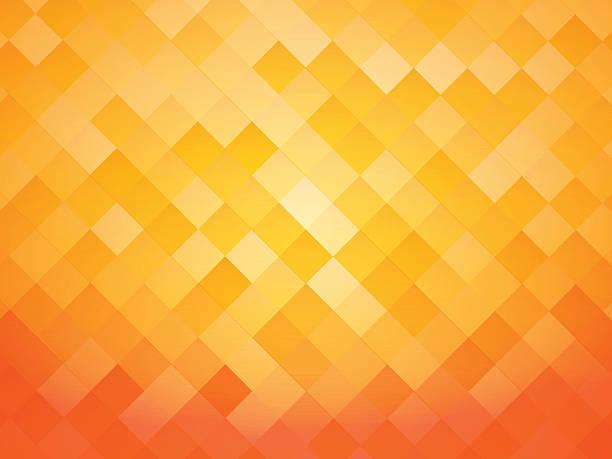 bildbanksillustrationer, clip art samt tecknat material och ikoner med abstract tile orange background - apelsin