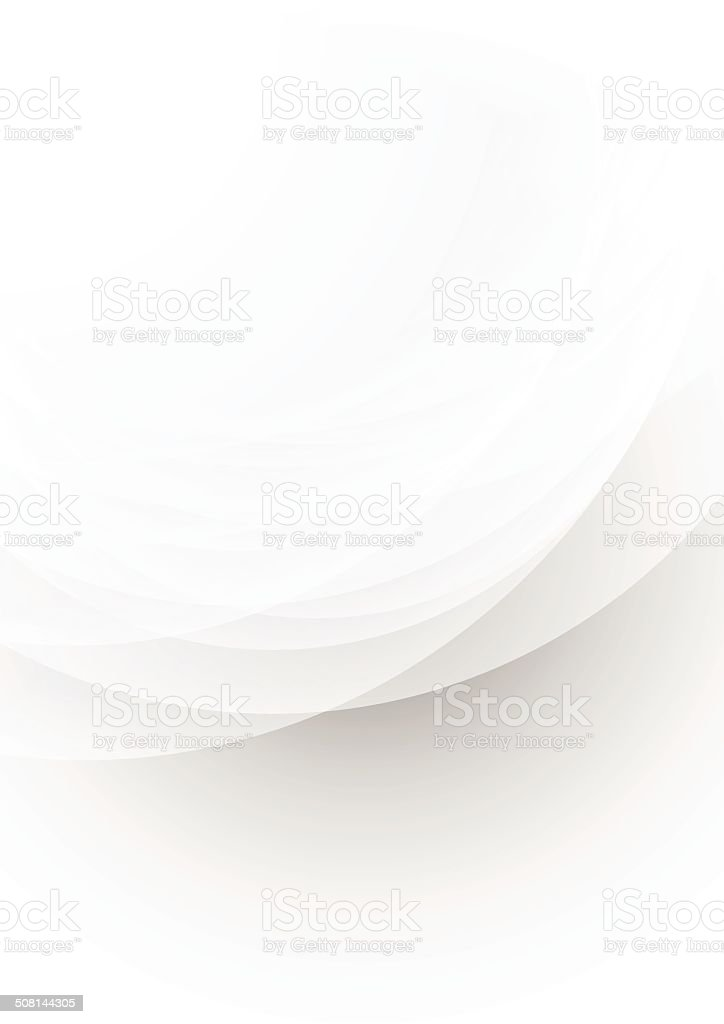Abstract transparent grey background vector art illustration