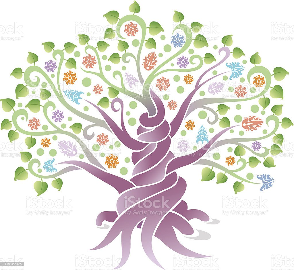 abstract tree royalty-free abstract tree stock vector art & more images of abstract