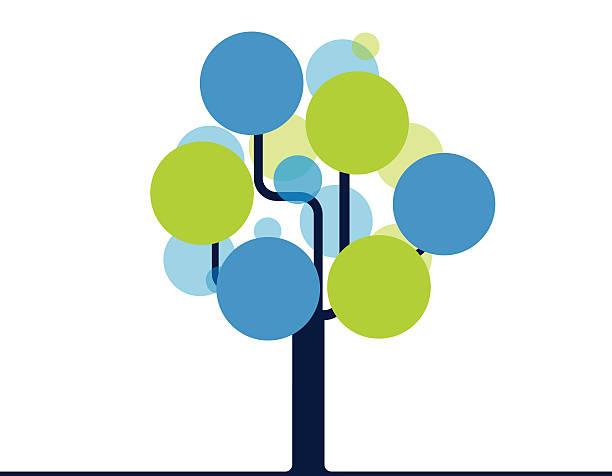 Abstrakt Baum – Vektorgrafik