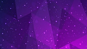 Abstract Triangle Background