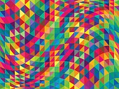 abstract triangle background; simple vector illustration; eps 10;  zip includes aics2, high res jpg