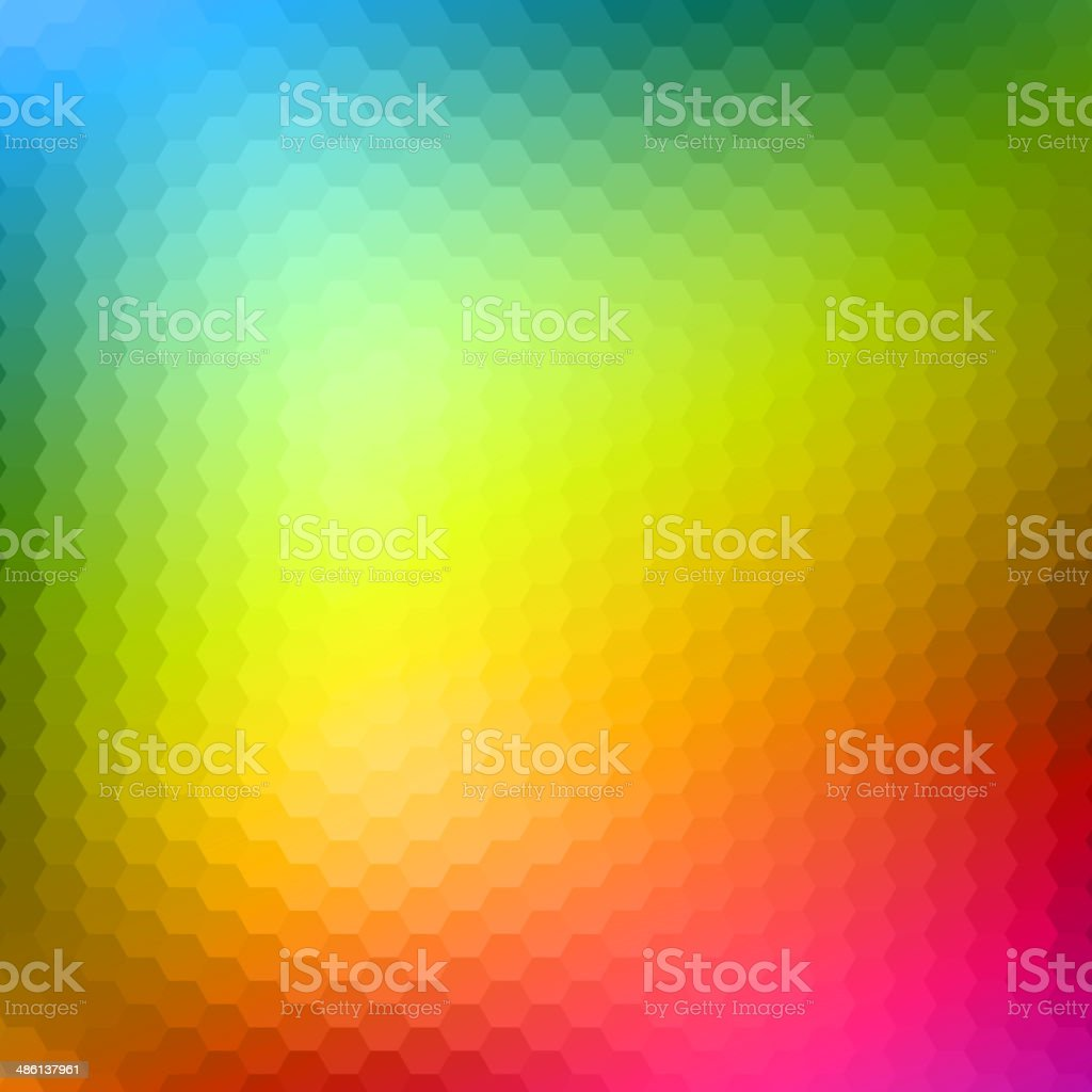 Abstract Triangle Background, Vector Illustration vector art illustration