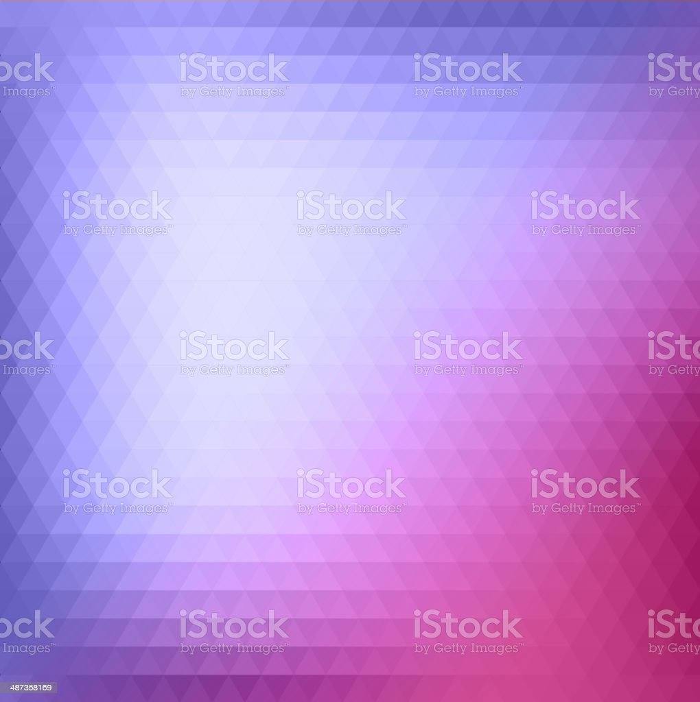 Abstract Triangle Background, Vector Illustration royalty-free stock vector art