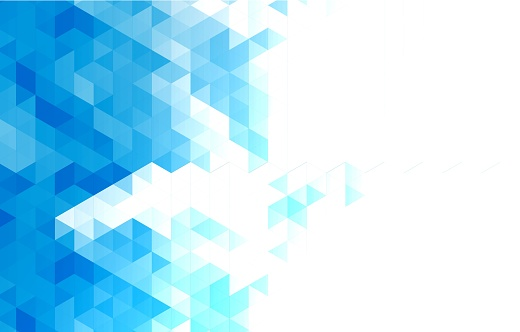 Abstract Triangle Geometric Background