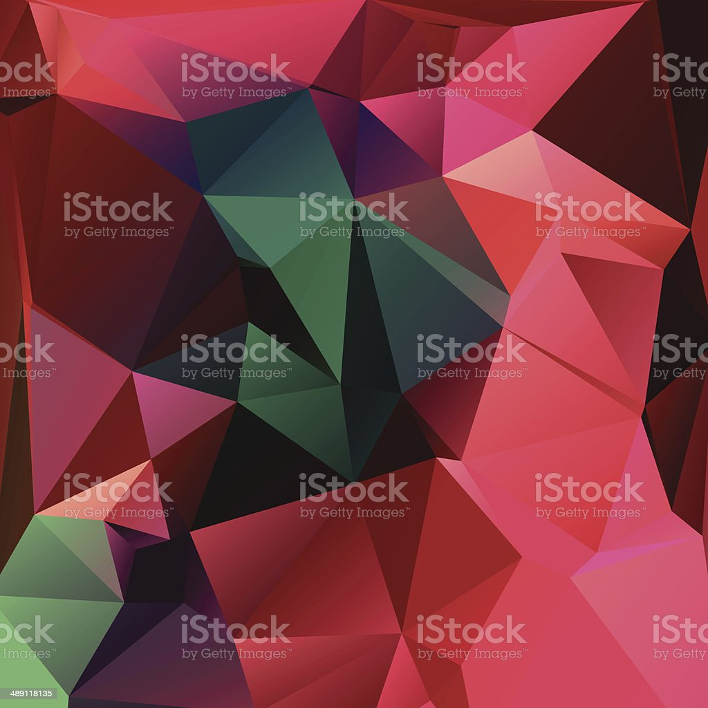 Abstract triangle geometric square colorful vector background royalty-free stock vector art