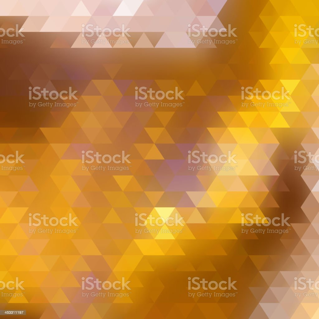 Abstract Triangle Geometrical Multicolored. royalty-free stock vector art