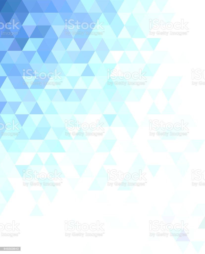 抽象的な三角形モザイク背景デザイン - ます目のベクターアート素材や