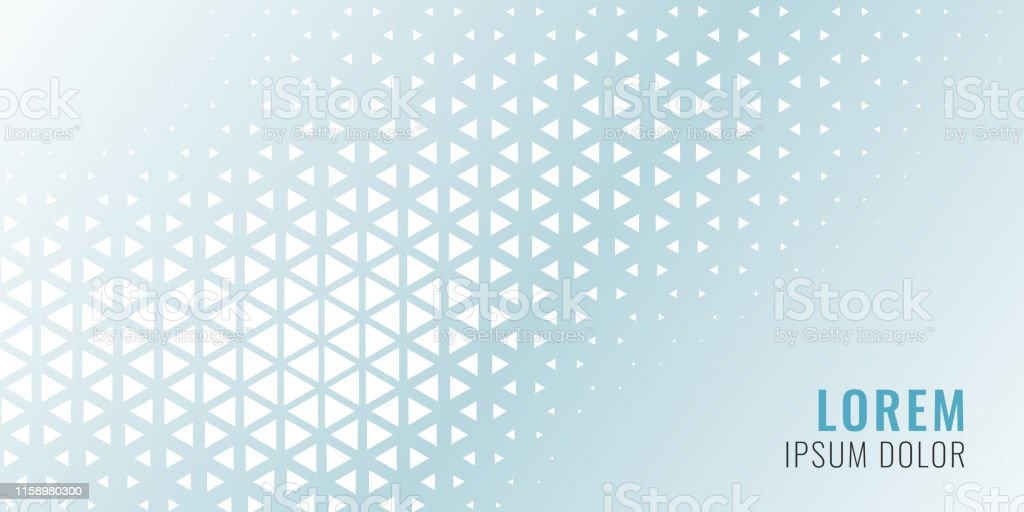 abstract triangle pattern banner design - Royalty-free Abstrato arte vetorial