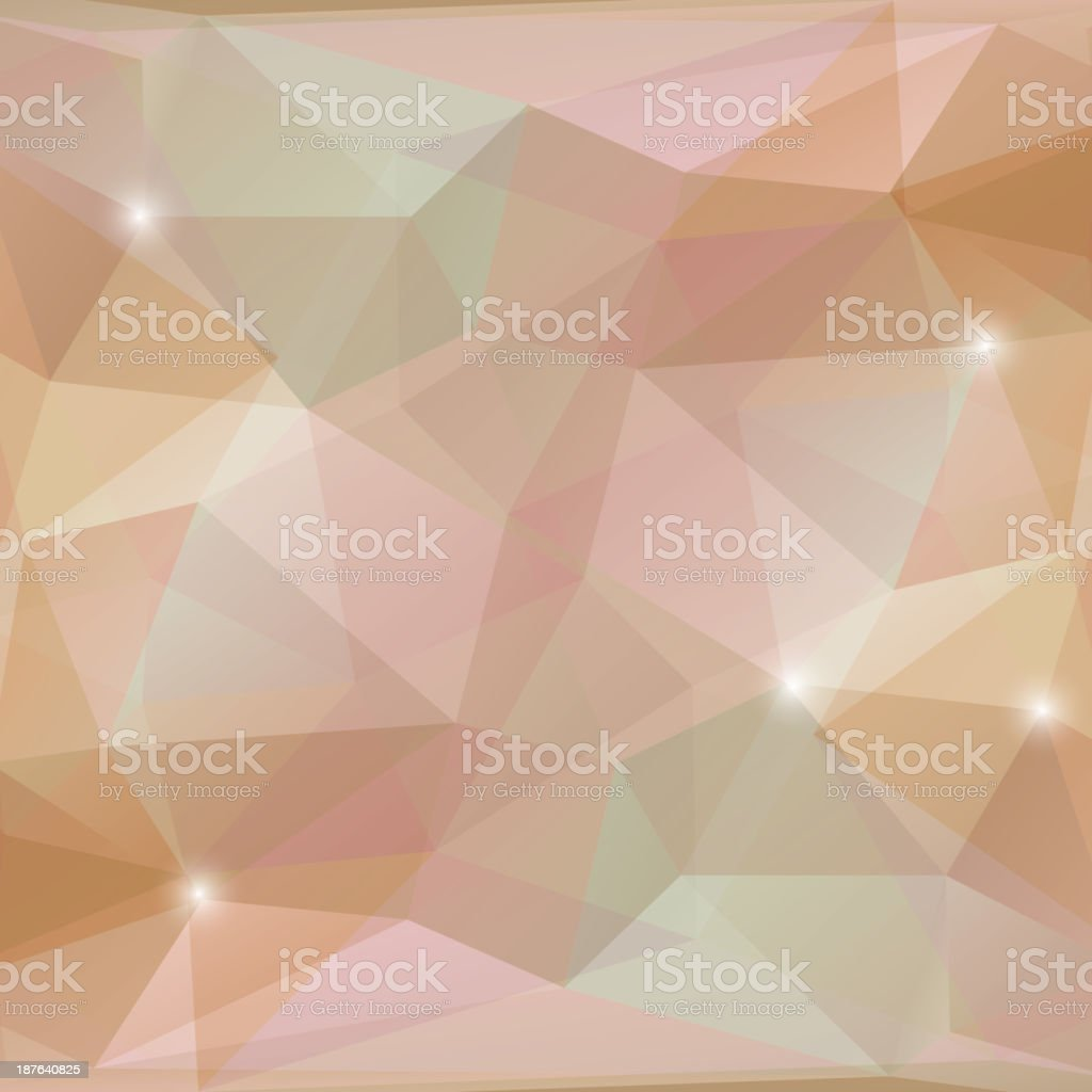Abstract Triangles Background royalty-free stock vector art
