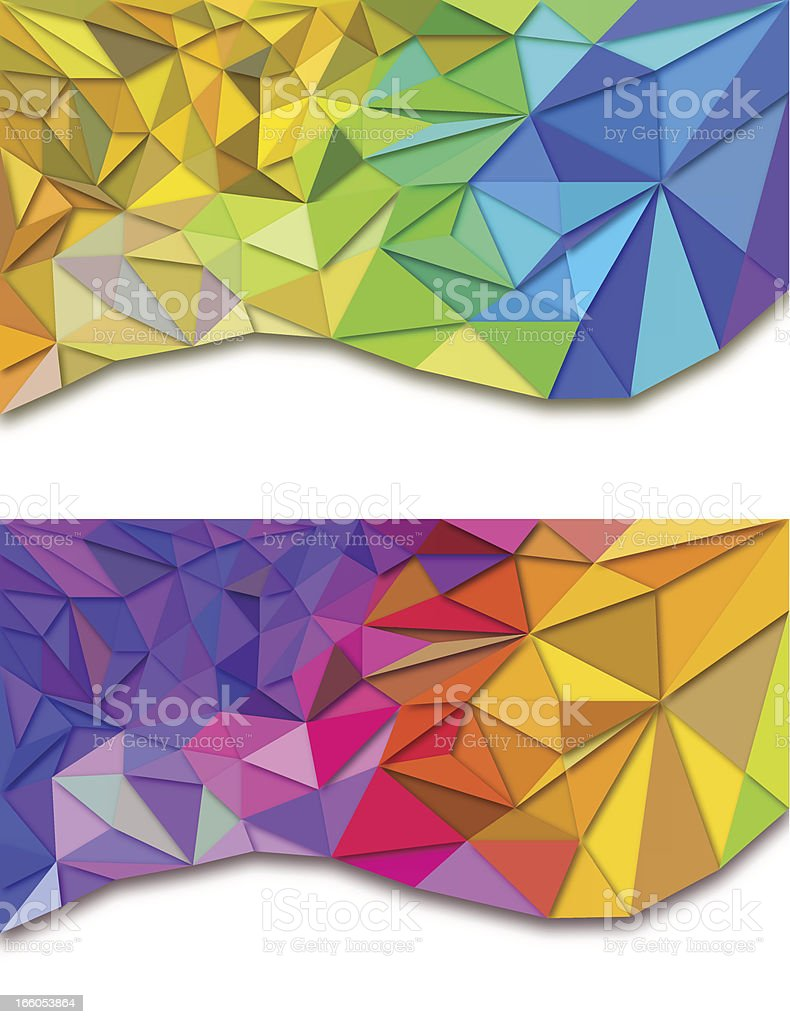 Abstract Triangles Backgrounds royalty-free abstract triangles backgrounds stock vector art & more images of abstract