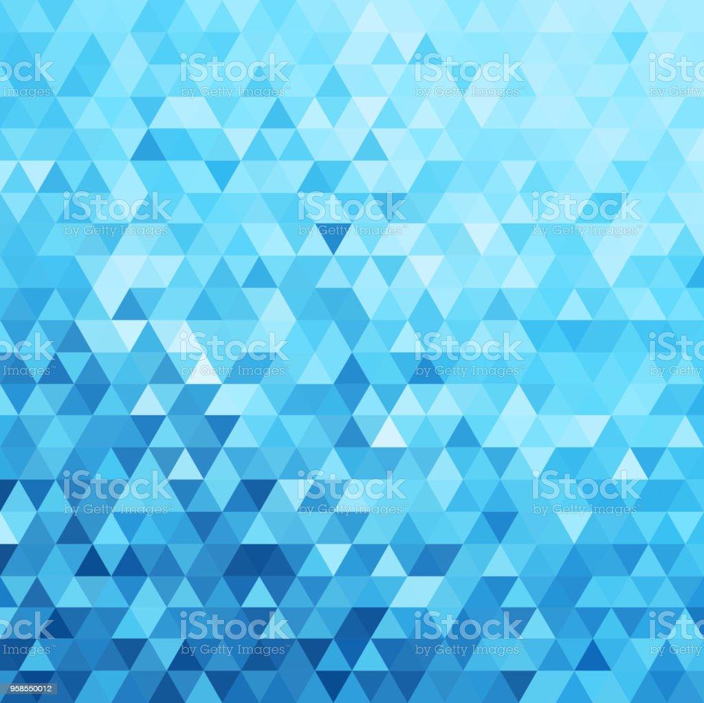 Abstract triangles pattern background - eps10 vector abstract triangles pattern background eps10 vector - immagini vettoriali stock e altre immagini di acqua royalty-free