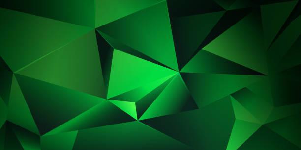 Abstrakter dreieckiger Hintergrund – Vektorgrafik