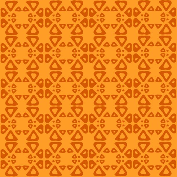 추상 부족 예술 민족 완벽 한 패턴입니다. 민속 반복 배경 텍스처입니다. 기하학적 인쇄입니다. 직물 디자인입니다. 벡터 배경 화면입니다. - 남미 문화 stock illustrations