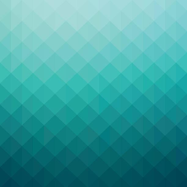 Arte abstracto azul turquesa gradiente fondo geométrico - ilustración de arte vectorial