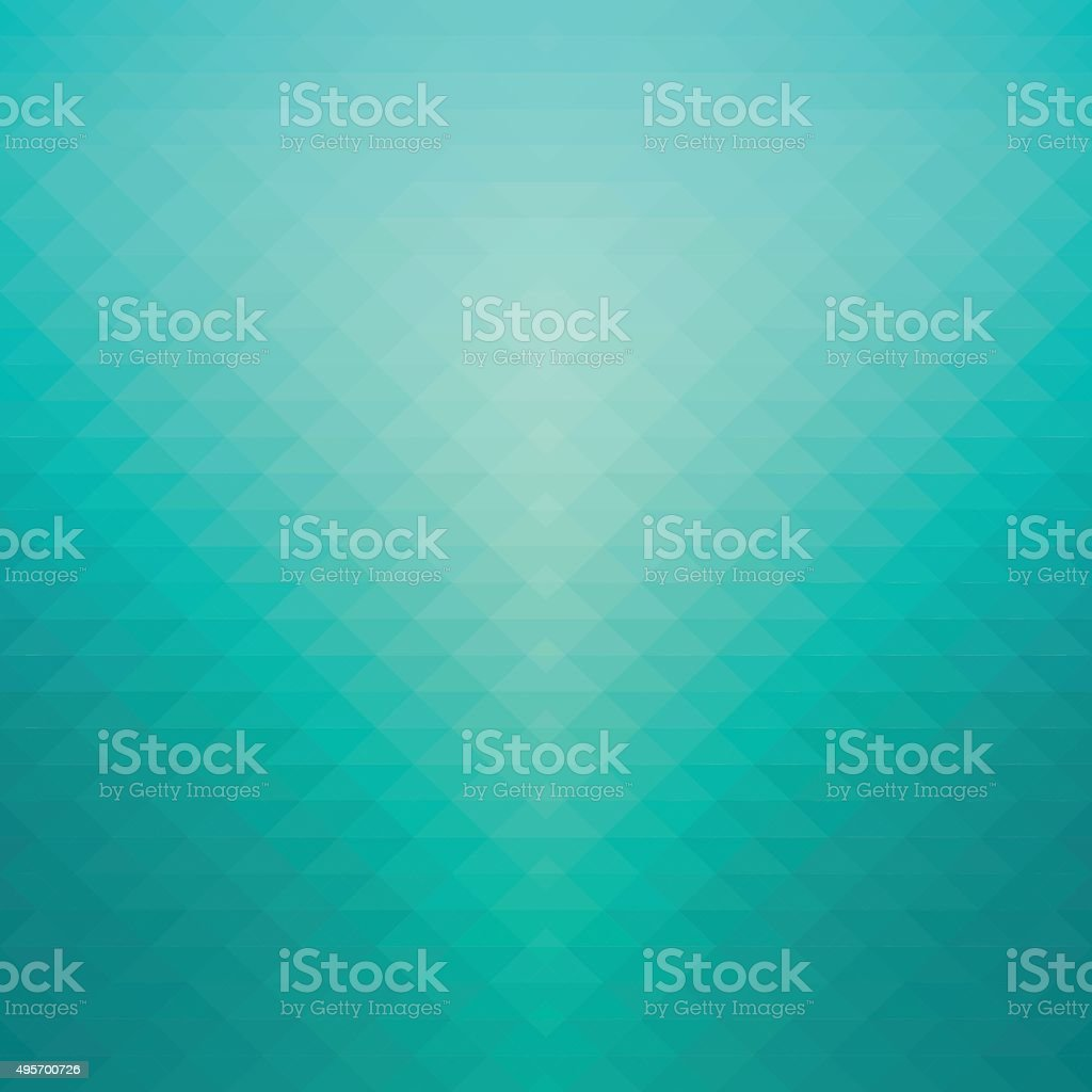 Abstract turquoise green background vector art illustration
