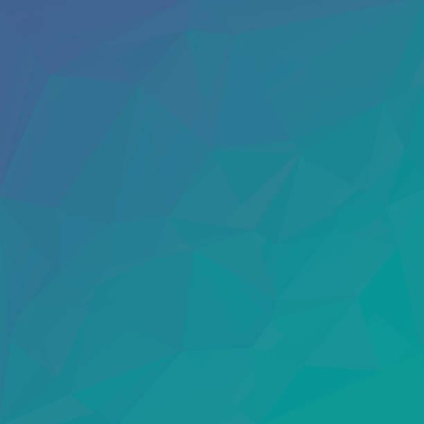 Abstrakte Türkis Dreieck-Hintergrund für Ihr Design – Vektorgrafik