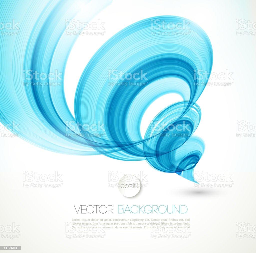 Abstract twist line  background. Template brochure design vector art illustration