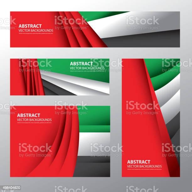 Abstract Uae Flag Emirates Colors向量圖形及更多2015年圖片