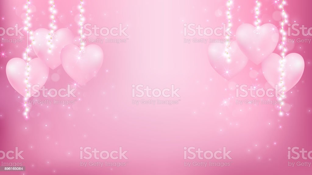 Abstract valentines background as  romantic moment