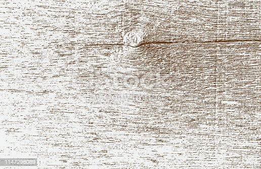 Abstract vector background for design use. Distressed overlay wooden texture - Vector.