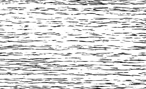 stockillustraties, clipart, cartoons en iconen met abstracte vector achtergrond voor design gebruik. houtsnede textuur. zwarte kleur houtsnede beroerte. freehand-tekening. geïsoleerd op witte achtergrond. vector illustratie. - houtgravure