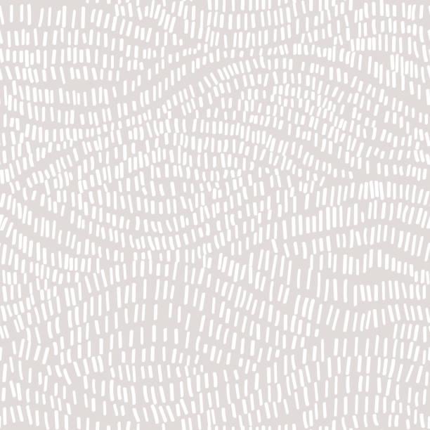 추상적인 벡터 배경, 자유형 낙서 간단한 기하학적 모양으로 완벽 한 패턴입니다. - 유기농 stock illustrations