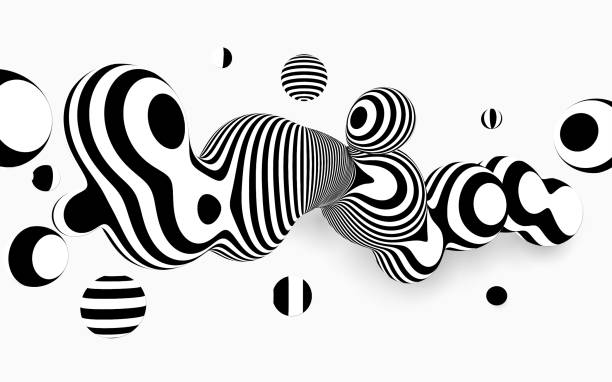 Abstract Vector Background . vector art illustration