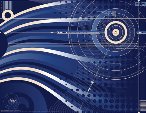 Abstract Vector Background Stock Illustration - Download Image Now