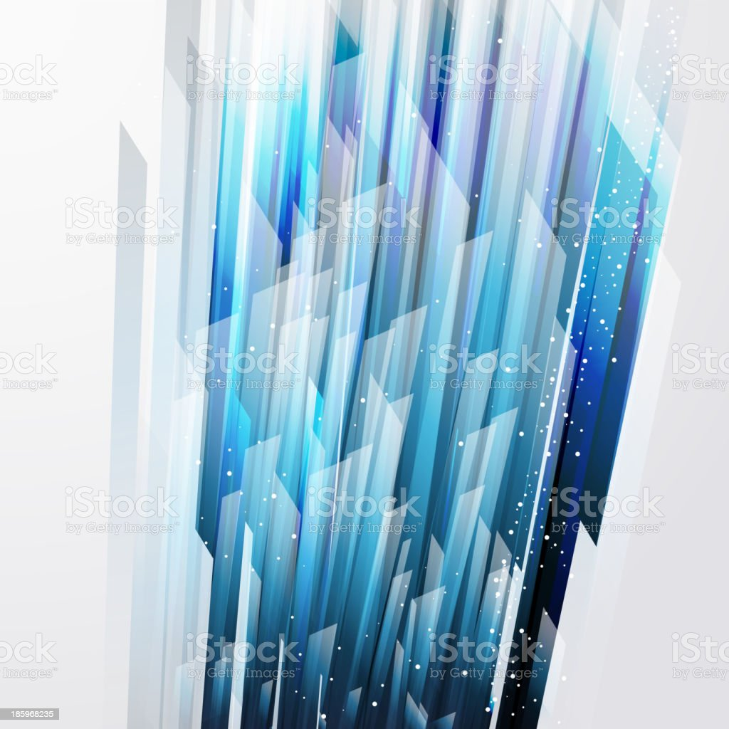 abstract vector background wiht straight blue lines vector art illustration